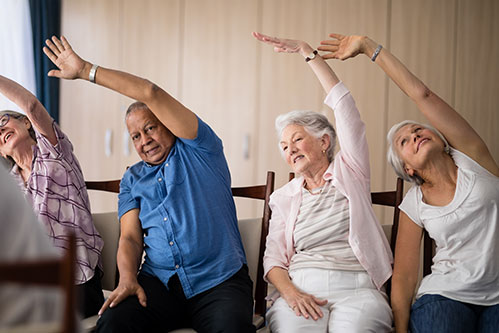 Healthy Senior Living for the New Year
