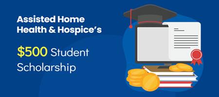 Scholarship page header